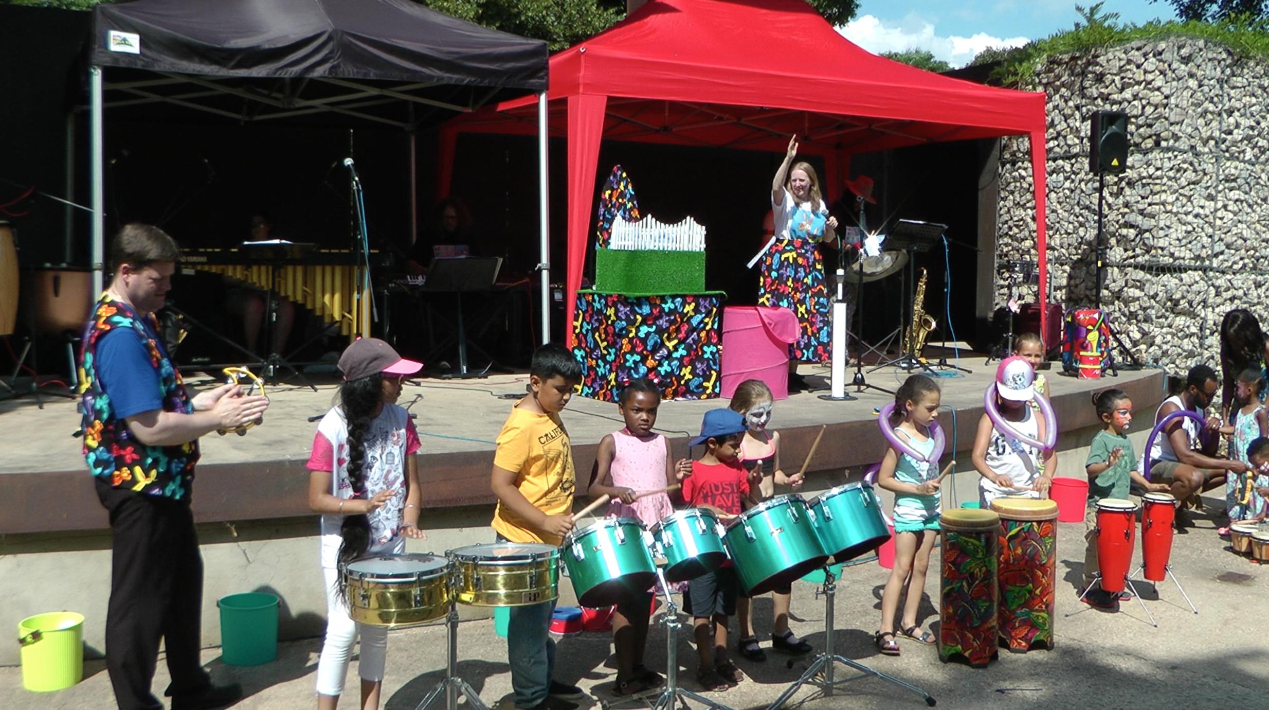 Musical Balloon Band Steel Pans