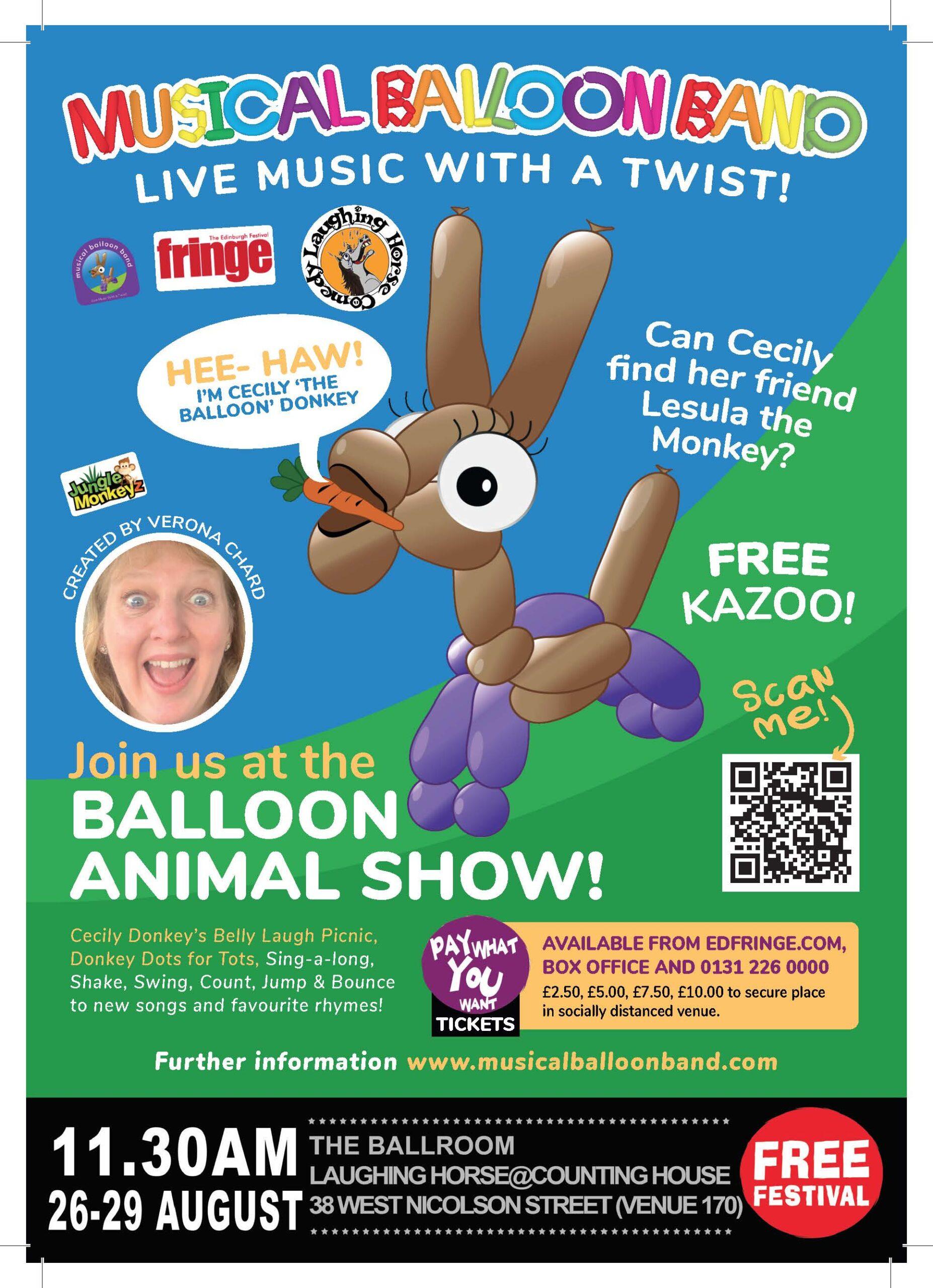 Free Fringe Fest Poster